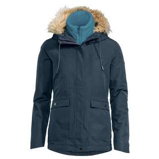 VAUDE Women's Kilia 3in1 Jacket II Doppeljacke Damen steelblue