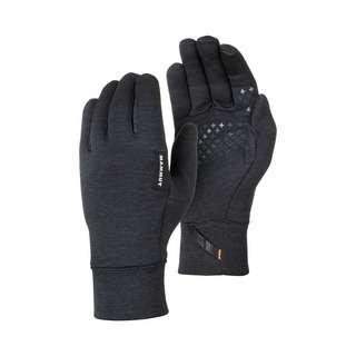 Mammut Wool Outdoorhandschuhe black mélange