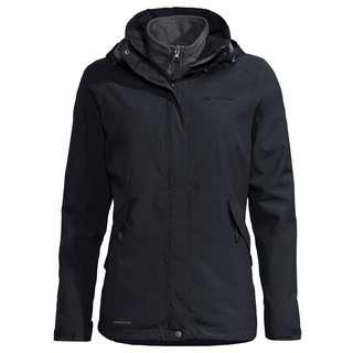 VAUDE Women's Rosemoor 3in1 Jacket Doppeljacke Damen black