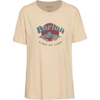 Burton T-Shirt Damen creme brulee