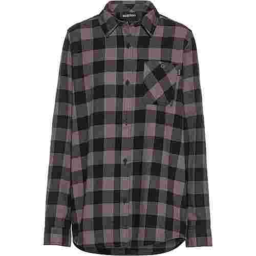 Burton Langarmhemd Damen castlerock heather buffalo plaid