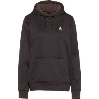 Burton Hoodie Damen true black heather