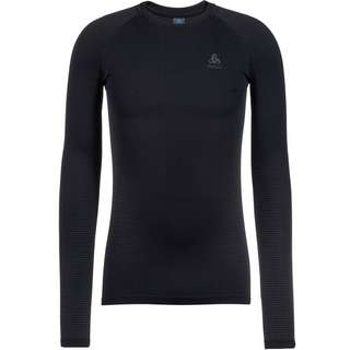 Odlo PERFORMANCE WARM ECO Funktionsshirt Herren black new odlo graphite grey