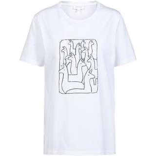 ARMEDANGELS Maraa Alpaca Gang T-Shirt Damen white