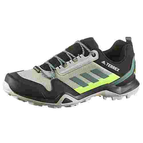 adidas GTX® AX3 Wanderschuhe Herren grey two f17-tech emerald-signal green