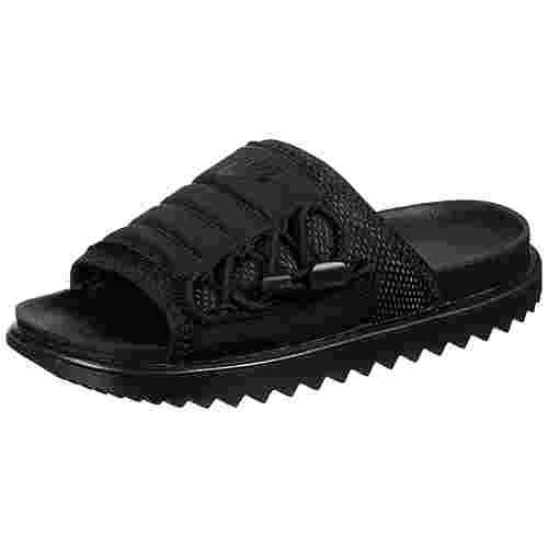 Nike Asuna Slide Sandalen Damen schwarz