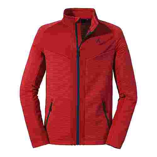 Schöffel Fleece Jacket Filzmoos M Fleecejacke Herren 2001 rot