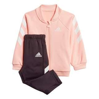 adidas Mini Me Trainingsanzug Trainingsanzug Kinder Haze Coral / White