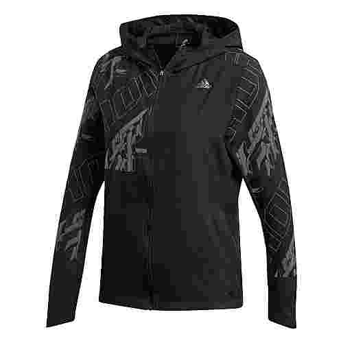 adidas Own the Run Reflective Jacke Outdoorjacke Damen Black / Reflective Silver