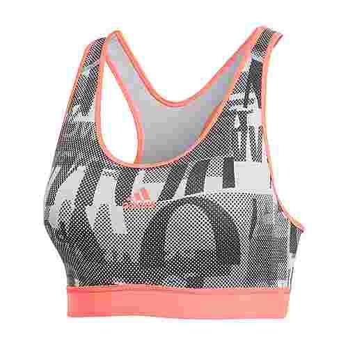 adidas Believe This Iterations Sport-BH BH Damen Glory Grey / Black / Signal Pink / Coral