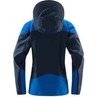 Haglöfs GORE-TEX Roc Spire Jacket Hardshelljacke Damen Tarn Blue/Storm Blue