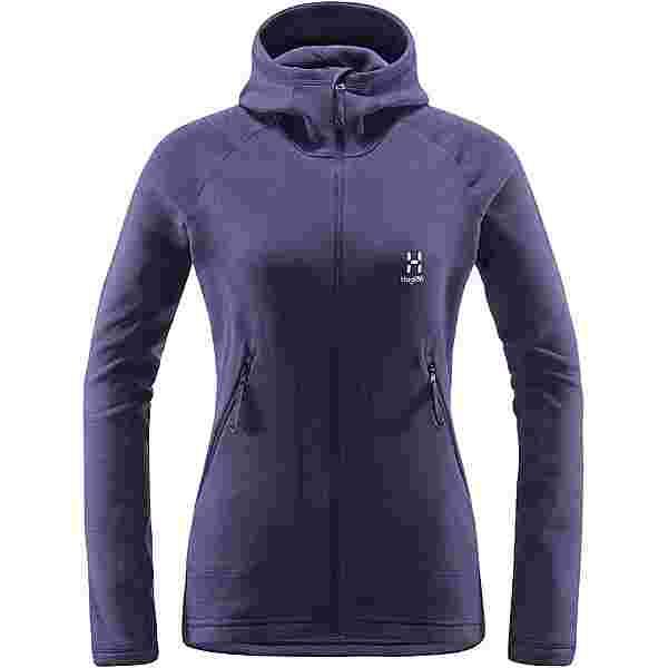 Haglöfs Heron Hood Fleecejacke Damen Purple Rain