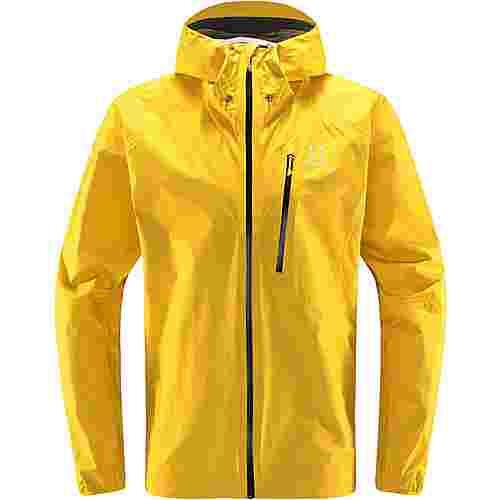 Haglöfs GORE-TEX® L.I.M Jacket Hardshelljacke Herren Pumpkin Yellow