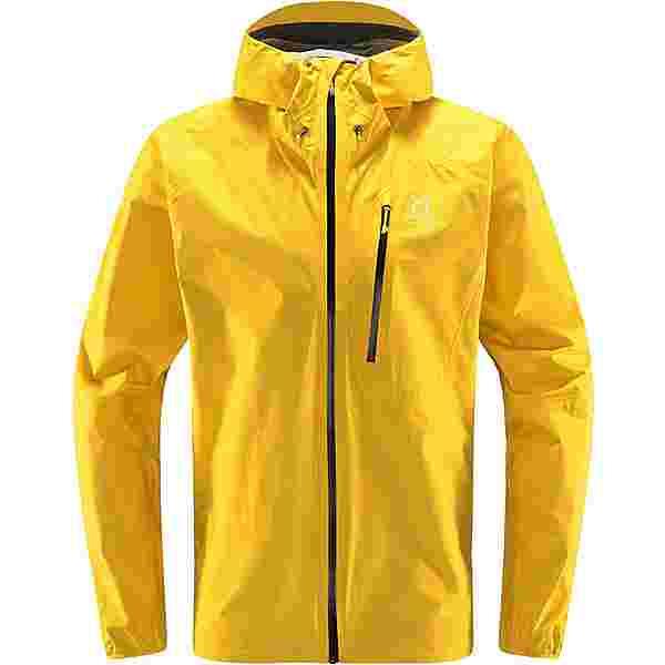 Haglöfs GORE-TEX L.I.M Jacket Hardshelljacke Herren Pumpkin Yellow