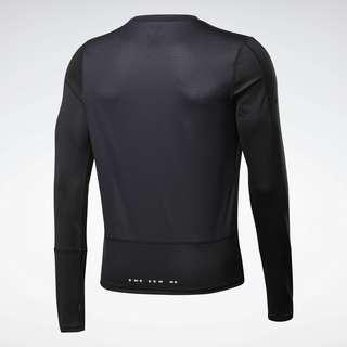 Reebok Running Essentials Long-Sleeve Shirt Laufshirt Herren Schwarz