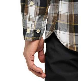 Haglöfs Tarn Flannell Shirt Outdoorhemd Herren Teak Brown/True Black