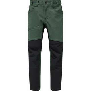 Haglöfs Rugged Flex Pant Trekkinghose Kinder Fjell Green/True Black
