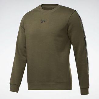 Reebok Training Essentials Tape Crew Sweatshirt Funktionssweatshirt Herren Grün