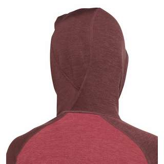 Haglöfs Heron Hood Fleecejacke Damen Brick Red/Maroon Red