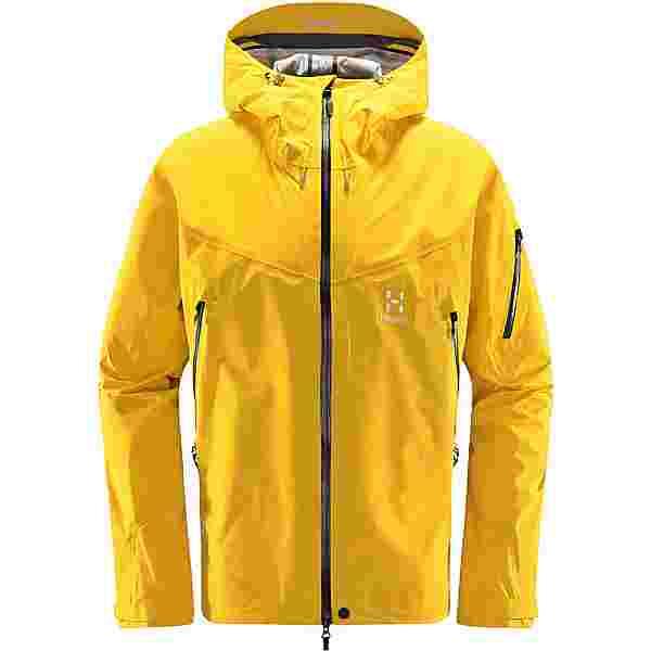 Haglöfs GORE-TEX Roc Spire Jacket Hardshelljacke Herren Pumpkin Yellow