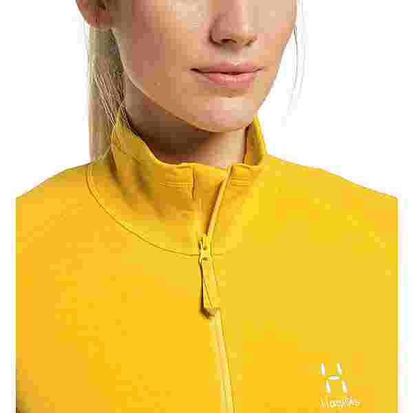 Haglöfs Heron Jacket Fleecejacke Damen Pumpkin Yellow
