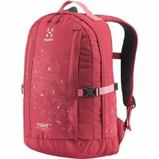 Haglöfs Tight  15 Trekkingrucksack Kinder Brick Red/Tulip Pink