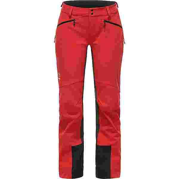 Haglöfs Rando Flex Pant Trekkinghose Damen Hibiscus Red/Magnetite