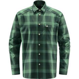 Haglöfs Tarn Flannell Shirt Outdoorhemd Herren Fjell Green/Trail Green