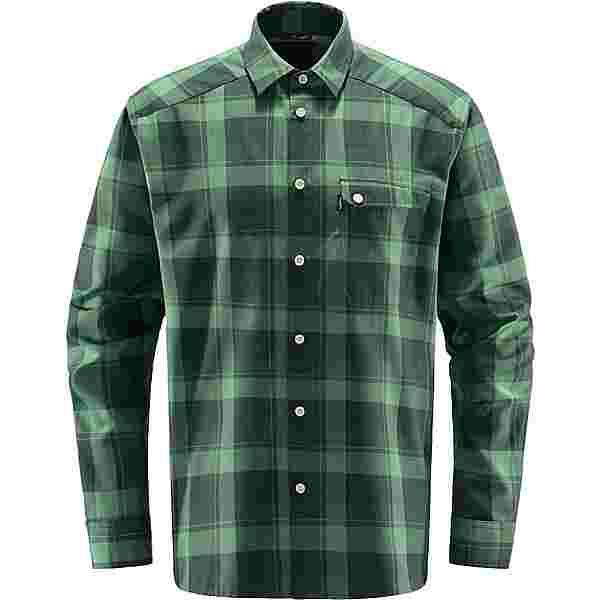 Haglöfs Tarn Flannell Shirt Outdoorhemd Herren Fjell Green/Trail Green