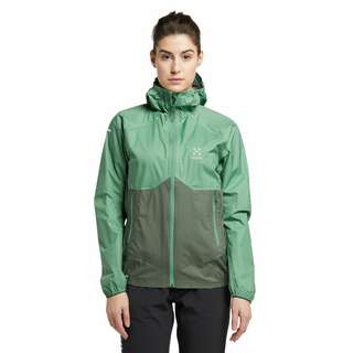 Haglöfs L.I.M PROOF Multi Jacket Hardshelljacke Damen Trail Green/Fjell Green