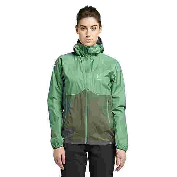Haglöfs L.I.M PROOF Multi Jacket Hardshelljacke Damen Trail Green/Fjell Green