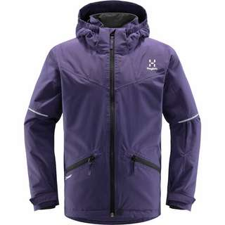 Haglöfs Niva Insulated Jacket Hardshelljacke Kinder Purple Rain
