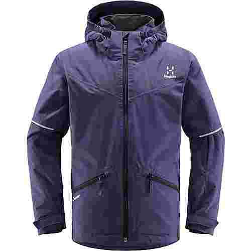 Haglöfs Niva Insulated Jacket Hardshelljacke Kinder Purple Rain