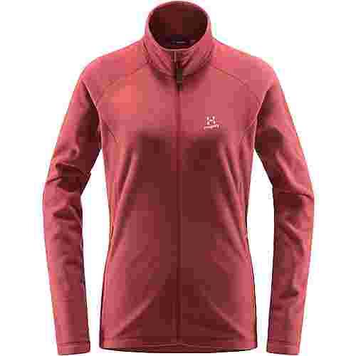 Haglöfs Astro Jacket Fleecejacke Damen Brick Red