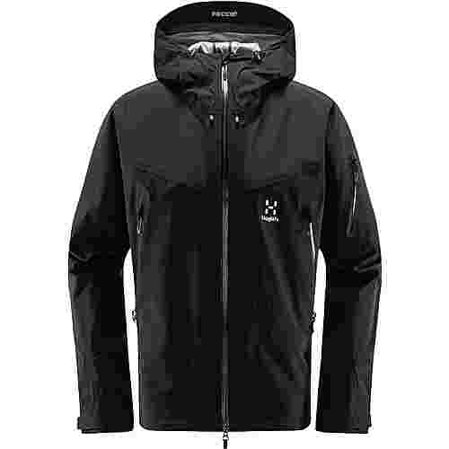Haglöfs GORE-TEX® Roc Spire Jacket Hardshelljacke Herren True Black