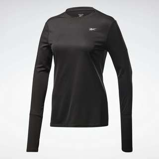 Reebok Running Essentials Long-Sleeve Shirt Laufshirt Damen Schwarz