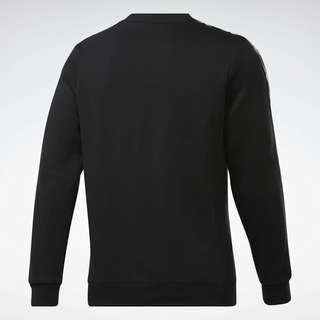 Reebok Training Essentials Tape Crew Sweatshirt Funktionssweatshirt Herren Schwarz