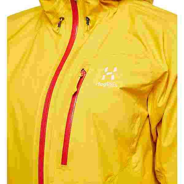 Haglöfs GORE-TEX L.I.M Jacket Hardshelljacke Damen Pumpkin Yellow