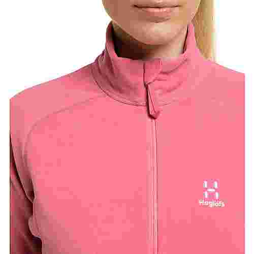 Haglöfs Astro Jacket Fleecejacke Damen Tulip Pink