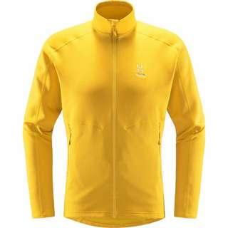 Haglöfs Heron Jacket Fleecejacke Herren Pumpkin Yellow