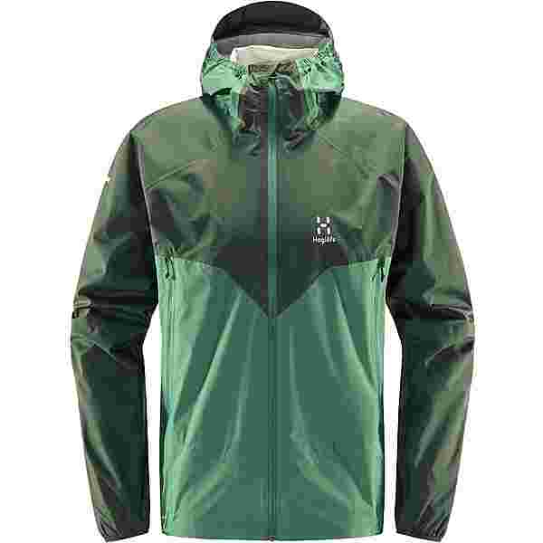 Haglöfs L.I.M PROOF Multi Jacket Hardshelljacke Herren Fjell Green/Trail Green