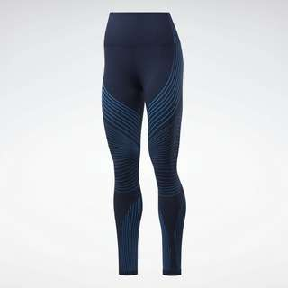 Reebok Thermowarm Seamless Tight Tights Damen Blau