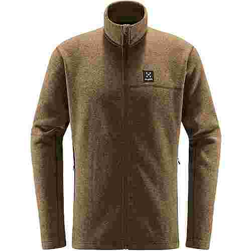 Haglöfs Swook Jacket Fleecejacke Herren Teak Brown