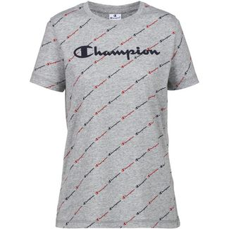 CHAMPION T-Shirt Damen new oxford grey melange yarn dyed-allover