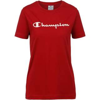 CHAMPION T-Shirt Damen rio red