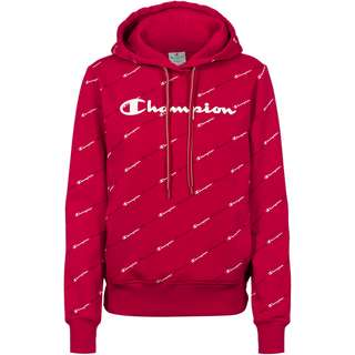 CHAMPION Hoodie Damen rio red-allover
