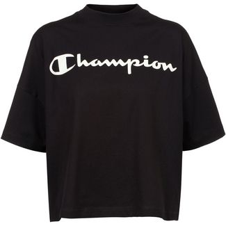 CHAMPION Croptop Damen black beauty