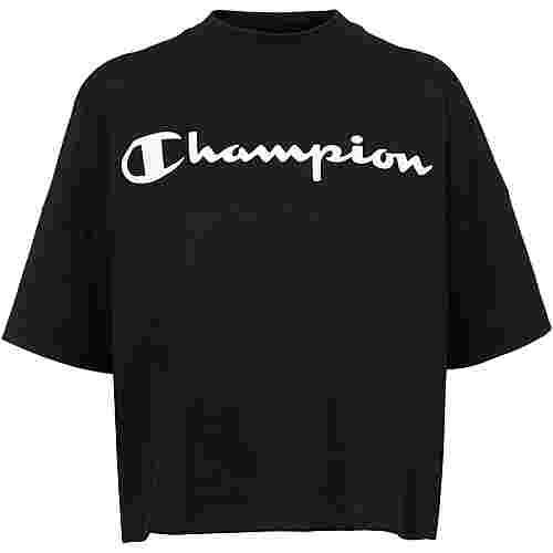 CHAMPION Croptop Damen black beauty