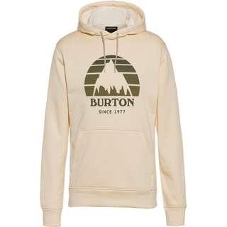 Burton Hoodie Herren creme brulee heather
