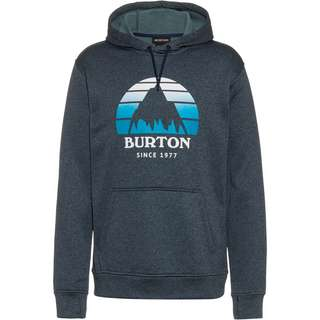 Burton Oak Hoodie Herren dress blue heather
